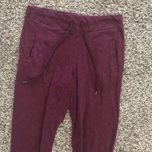 Cotton On Pants - Maroon Cotton Joggers